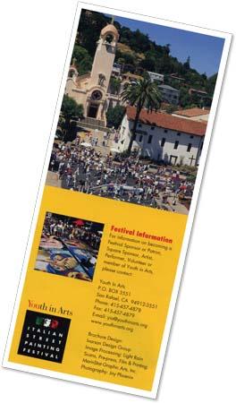 Pablo Sanchez Street Painting Brochure